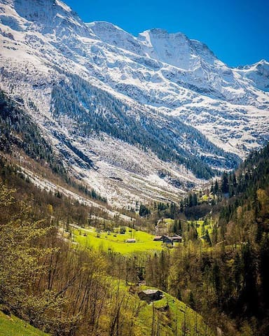 We are here - official picture from Mürren Tourism!