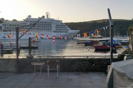 Waterside apartment in the center of Fowey. - Fowey - 公寓