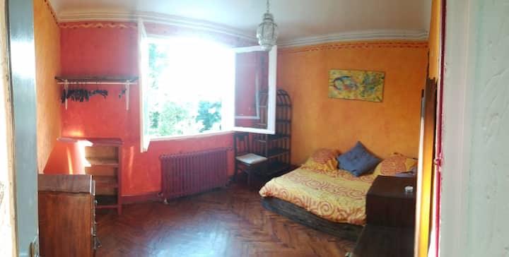 Chambre cosy dans maison landaise