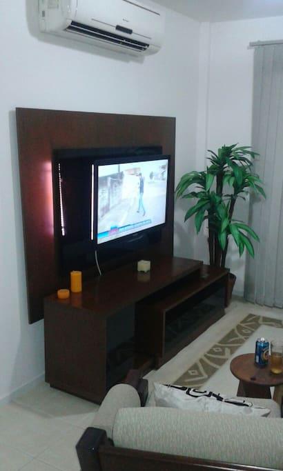 Sala de estar (TV de LED HD)
