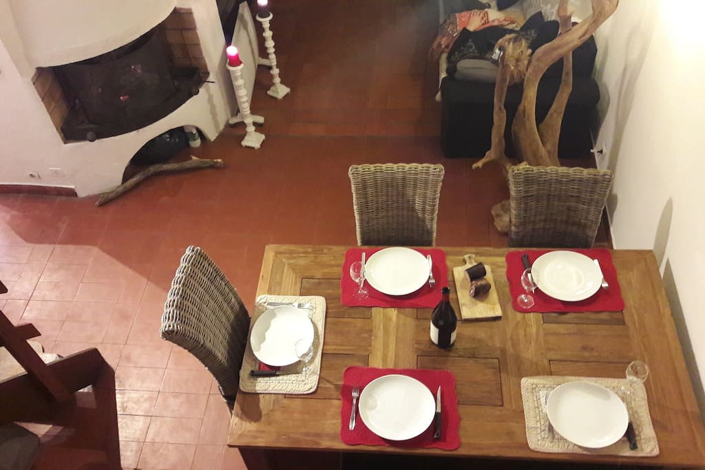 La table a manger