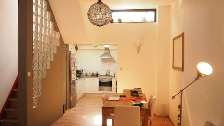 Charming house - 1 bedroom  & sunny roof terrace