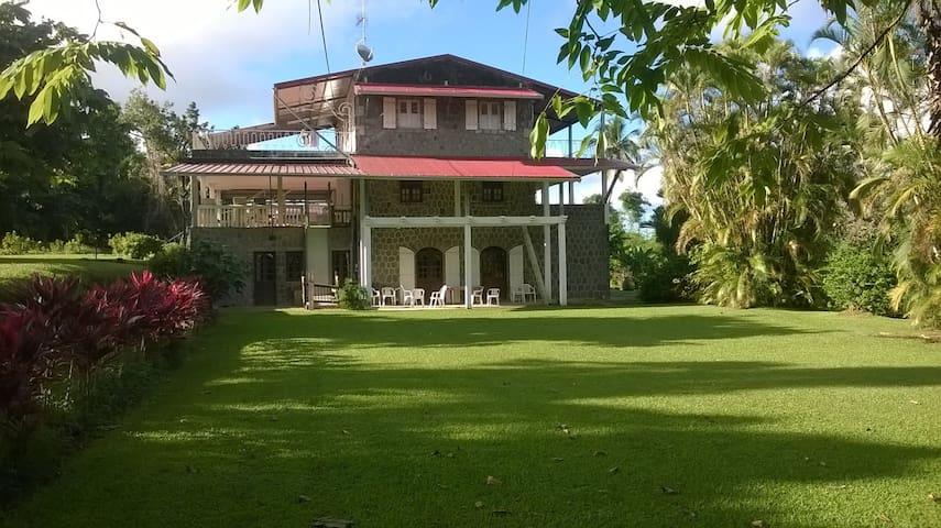 Habitation Ajoupa - Chambre Adélie