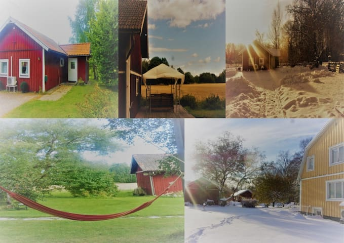 Calm,Countryside & Organic near Stockholm&Arlanda - Norrtälje V - Casa de hóspedes