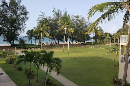 Tropical Beachfront Retreat - Byt