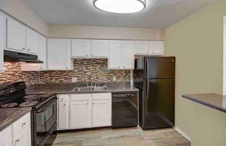 Beautiful two bedroom and two FULL bathrooms