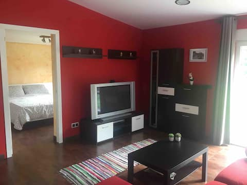 Lovely apartment with garden near to the beach