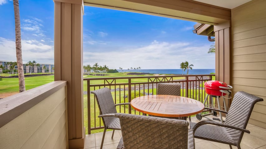 Limited time Jaw-Dropping Rates for Best Ocean Views + Location at Hali'i Kai! - Waikoloa - Huoneisto