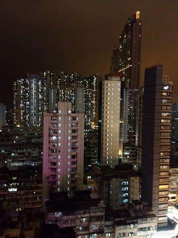 夜景 night view from hostel