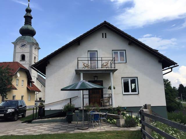 Wohnung nahe Faaker See (mit Balkon) - Finkenstein am Faaker See - Haus