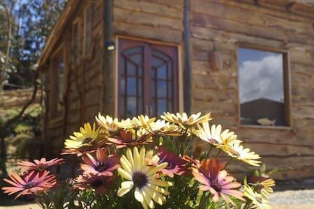 Cabaña rustica con vista al humedal
