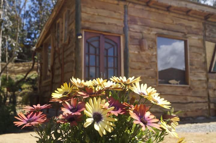 Cabaña rustica independiente con vista al humedal
