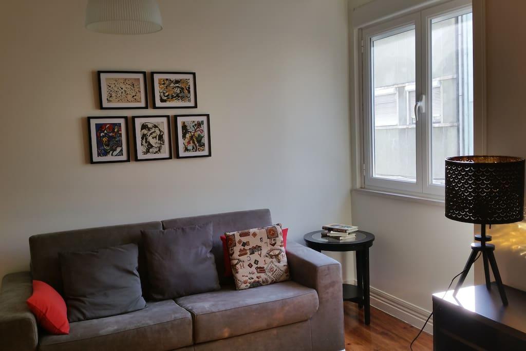 Salon (Canapé-lit deux places)