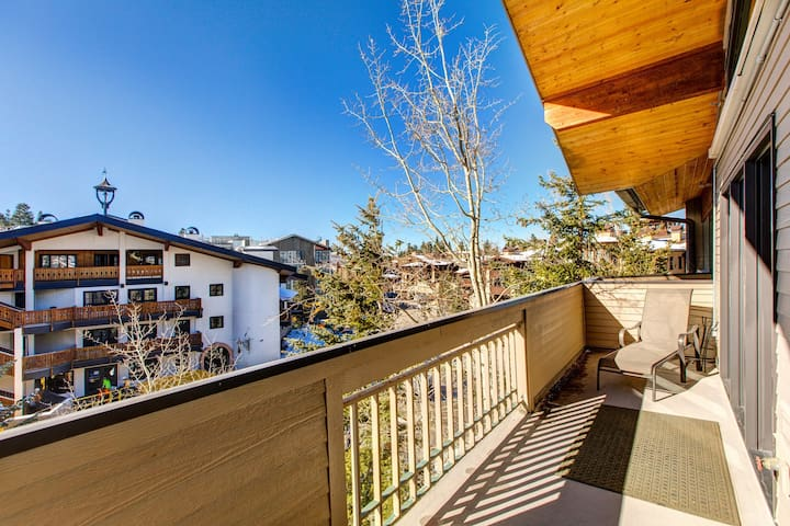 NEW LISTING! Ski-in/ski-out condo w/ mountain views, a gas fireplace, & more