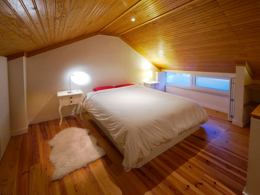 King size with very comfortable bed