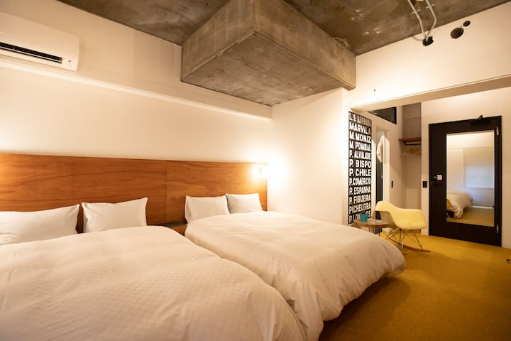 Earthmans apt 305/3mins walk from Shinsaibashi EMA