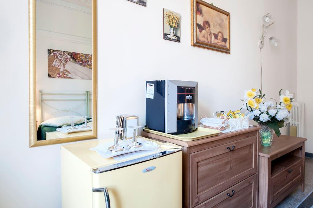 coffee and tea machine