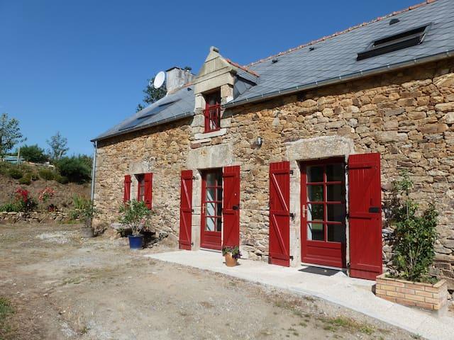 Longère rénovée  en bord de Vilaine - Béganne - Haus