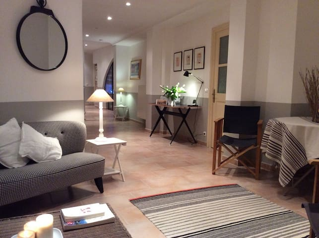 Lovingly restored apartment in historic ramparts. - Sablet - Wohnung