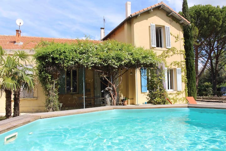 Vaste demeure de charme en Provence - Gréasque - Rumah