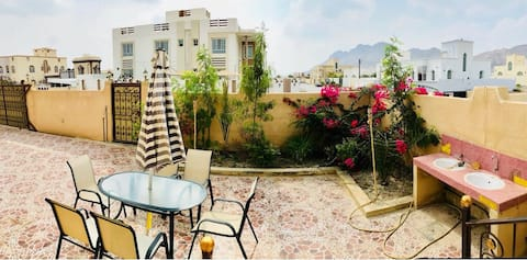 Private Half of a Villa in Nizwa w/ Terrace