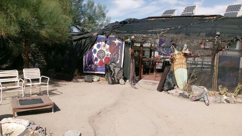 SlabCity Hostel a true desert experience.seeyah