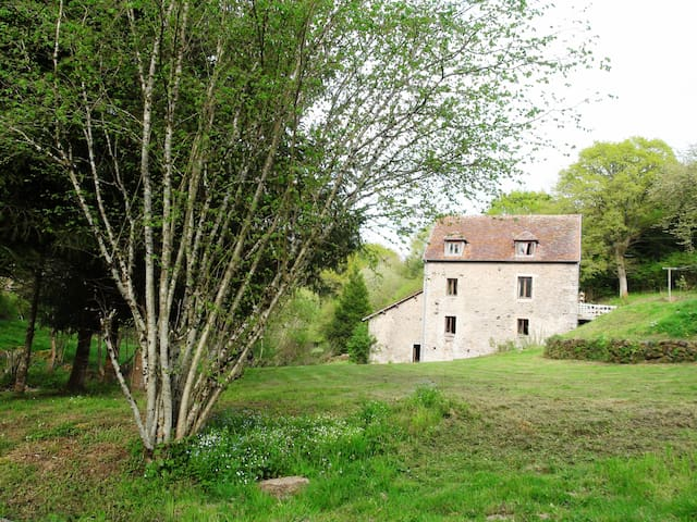 Holiday Flat in an Old Mill - Montlay-en-Auxois - Wohnung