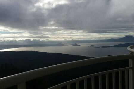 Waking up to Taal Lake