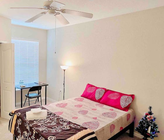 Cozy affordable private room in Tampa