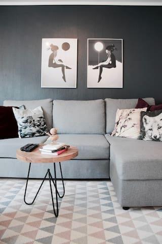 Modern Scandinavian Design 1 BR Apartment - Bergen - Apartment