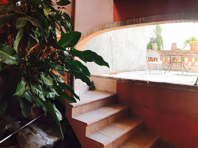 2nd private patio area