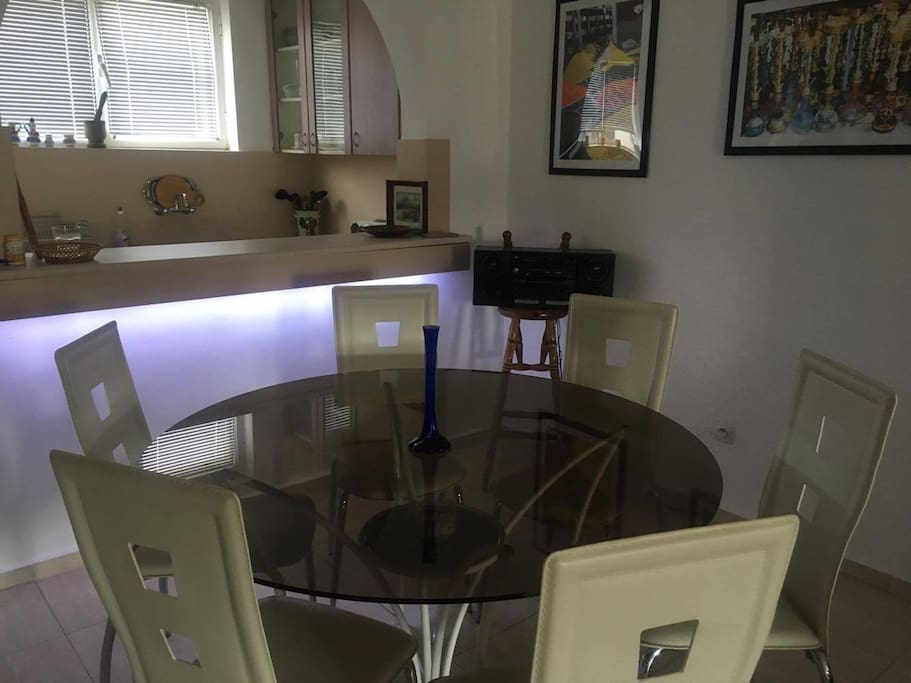 Dining table - first floor