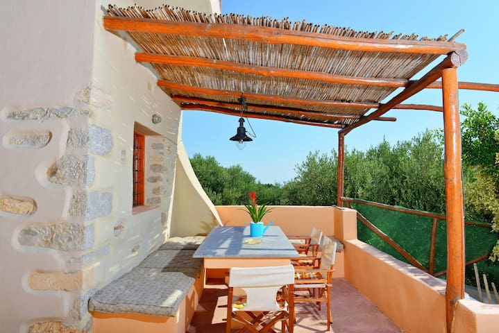 Crete Elounda Villa 'Almond 2 Big Pool 6 PAX - Βρουχάς - Villa