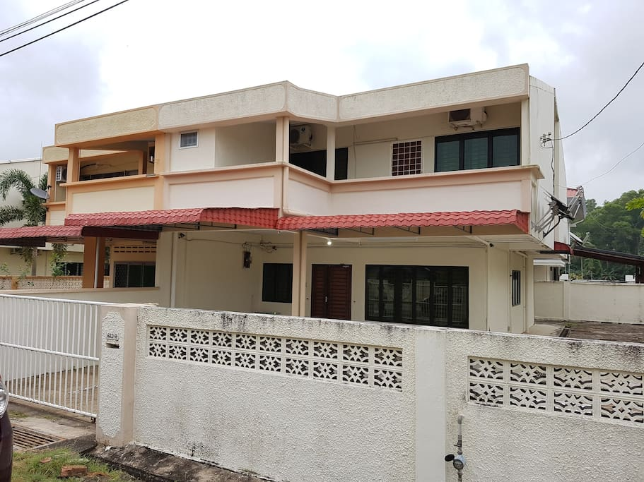 Front View House