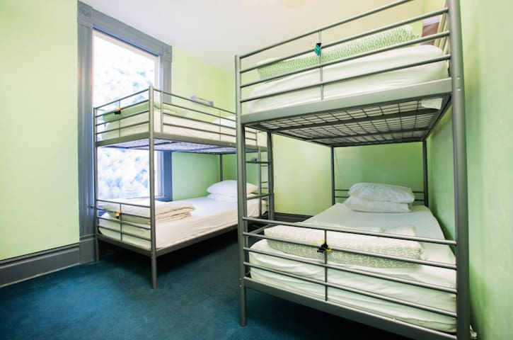 1 Bed in a 4 Bed Shared Dorm at Farm House Hostel