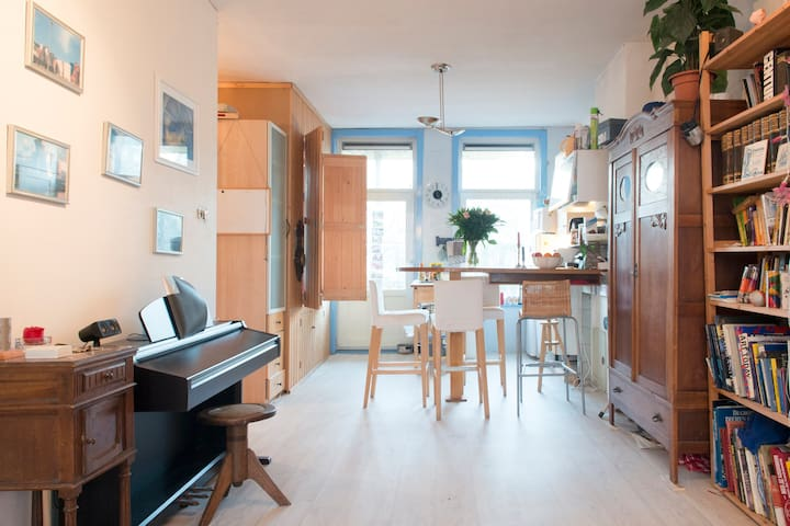Comfortable apartment with balcony on perfect spot - Ámsterdam - Departamento