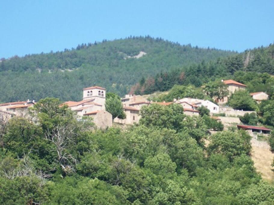 le village de St Symphorien de Mahun