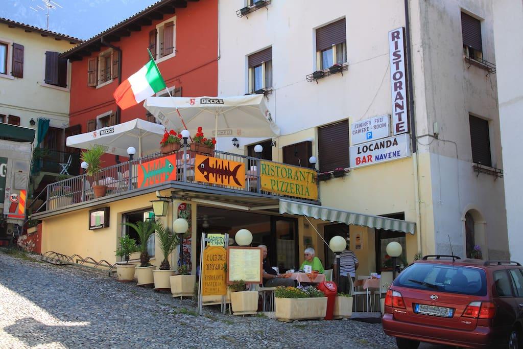 B&B Garda lake front excellent food