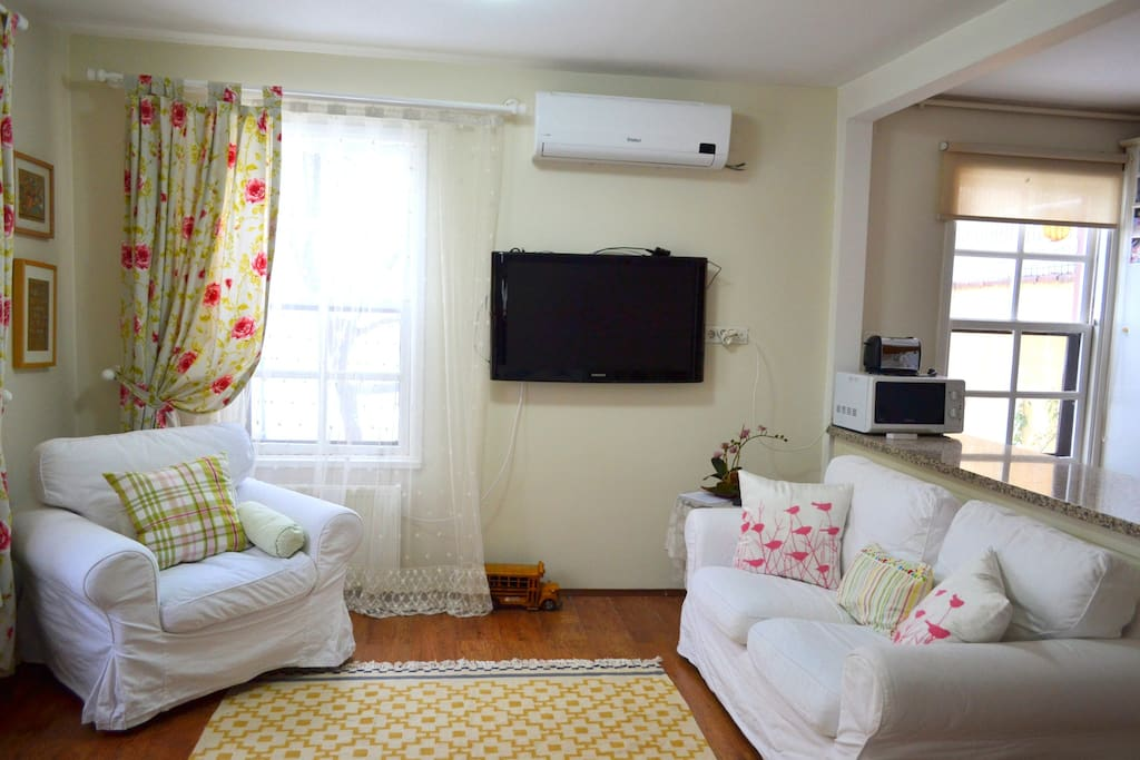 Livingroom. Flat TV, Air Conditioning