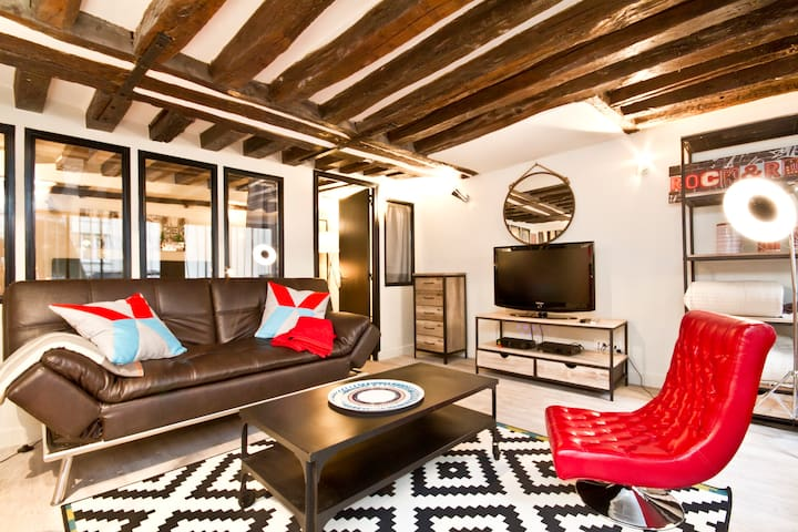 A PARIS OPERA LOFT 3 ROOMS Loft 4/6 pers