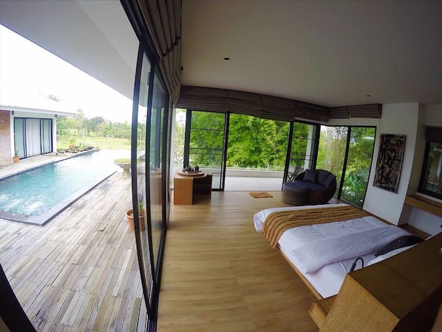 Touching Stars Home (Large bedroom) w/Private Pool