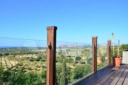 Capari rustic retreat stunning sensational seaview - Rethymno - Casa