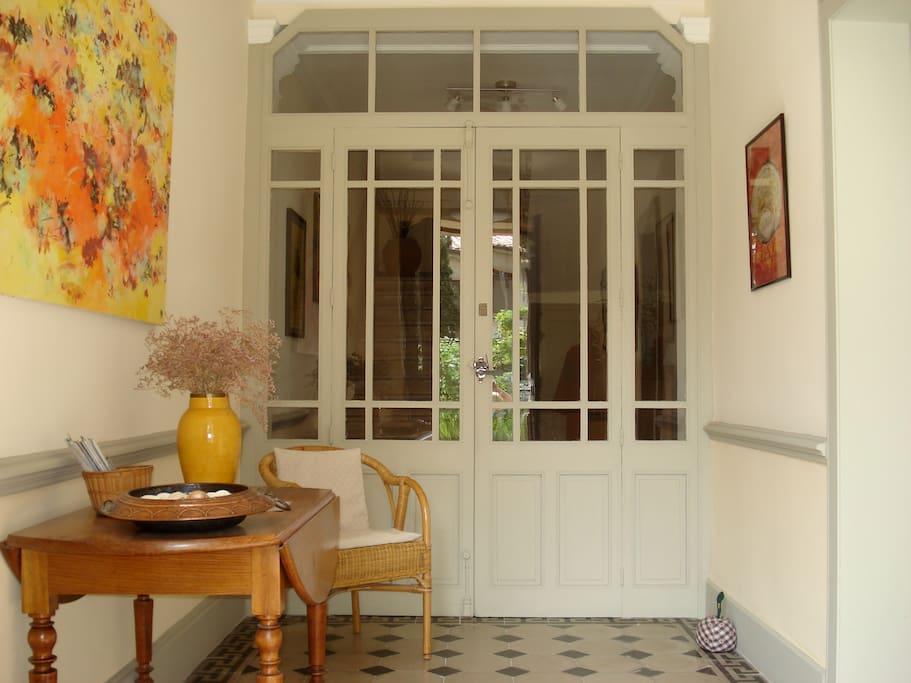 Entrée maison