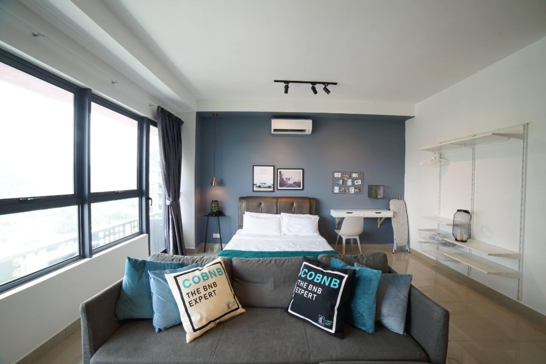 KL City Arte Plus Morden Studio Living Room - Prefect Place for business traveler.