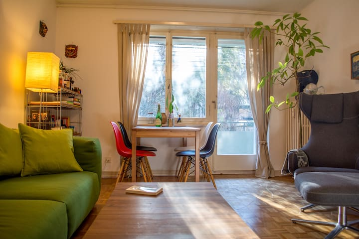 3-Room Apartment / Basel World - Basel - Lejlighed