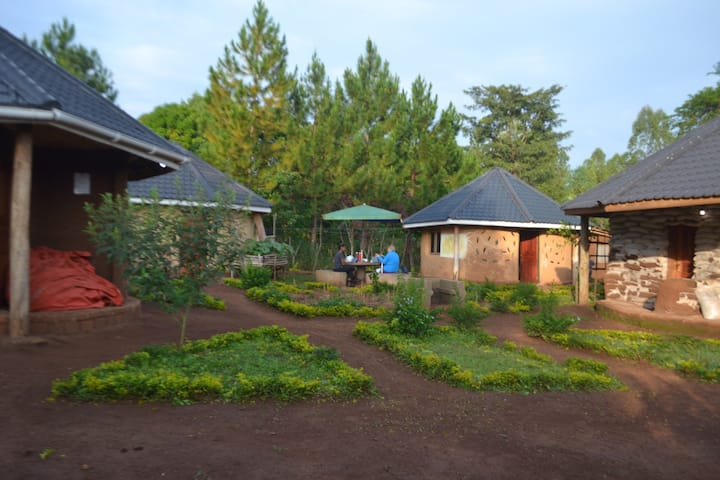 Eco-Cottage #1 - Natural accommodation in Hoima