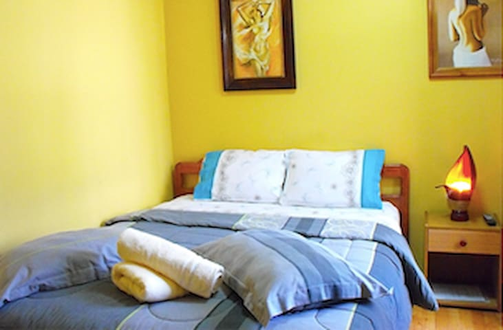 Amigable Habitacion Doble en Hostal - Concepción - Bed & Breakfast