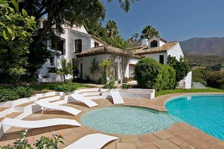 Magnificent villa in Costa del Sol - カサレス