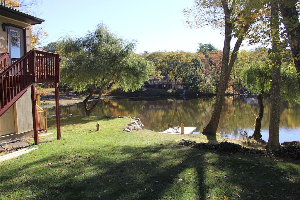 Lakefront gem case in affitto a west milford new for Planimetrie per case di 5 camere da letto ranch