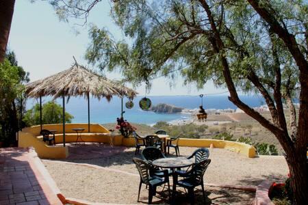 Vista espectacular-La Loma Hab.E - La Isleta del Moro - Oda + Kahvaltı